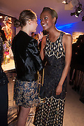 CHLOE LE CAREUX; NADIA GIRAMATA;  The Vogue Festival 2012 in association with Vertu- cocktail party. Royal Geographical Society. Kensington Gore. London. SW7. 20 April 2012.