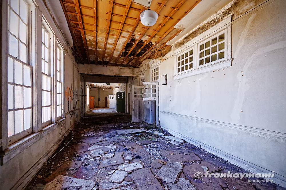 The abandoned Lakeview School on Milne Blvd. in New Orleans, LA. Built in 1915, it was designed by E.A. Christy, supervising architect for the New Orleans School Board for nearly 30 years.