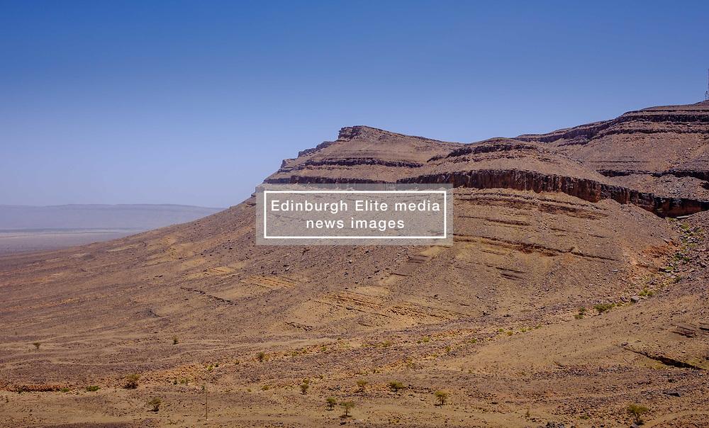 The Moroccan desert in Zagora province, southern Morocco<br /> <br /> (c) Andrew Wilson   Edinburgh Elite media