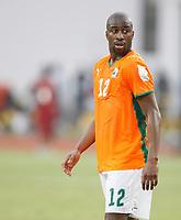 Photo: Steve Bond/Richard Lane Photography.<br /> Ivory Coast v Benin. Africa Cup of Nations. 25/01/2008. Abdouleye Meite of Ivory Coast & Bolton Wanderers