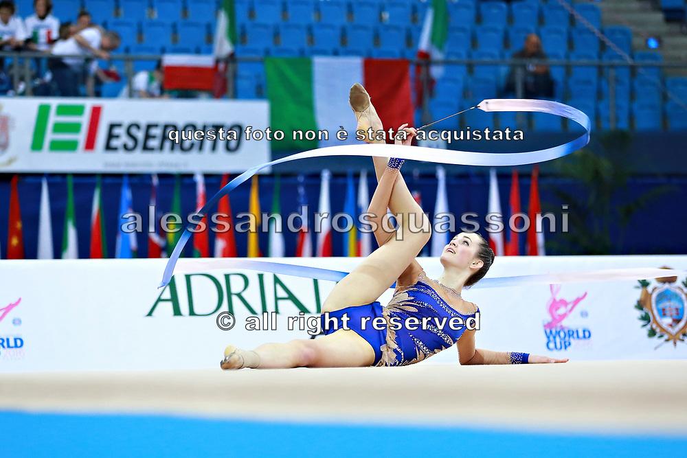 Kilianova Xenia è un atleta Slovacca di ginnastica ritmica nata a Nitra nell 1997.