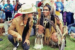 Linda Chorney At Wampanoag Pow Wow