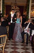Tatiana Kalnoky and Lodovico Corsini. Crillon 2004 Debutante Ball. Crillon Hotel. Paris. 26 November 2004. ONE TIME USE ONLY - DO NOT ARCHIVE  © Copyright Photograph by Dafydd Jones 66 Stockwell Park Rd. London SW9 0DA Tel 020 7733 0108 www.dafjones.com