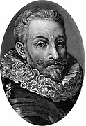 Johann Tserklaes, Count Tilly (1559-1632)  Flemish soldier. Commanded Catholic army at beginning of Thirty Years War (1618-48)  Succeeded Wallenstein as Commander-in-Chief Imperial Forces 1630.  Engraving.