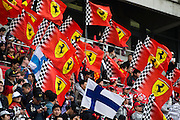 April 20, 2014 - Shanghai, China. UBS Chinese Formula One Grand Prix. Ferrari fans at the Chinese Grand Prix
