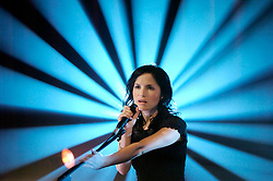 Andrea Corr<br /> performing live at an AOL session<br /> July 20, 2007<br /> Hospital, Convent Garden, London, Great Britain<br /> <br /> Photograph by Elliott Franks