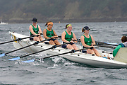 St Peter's Port, Guernsey, CHANNEL ISLANDS,   Killorglin Ladies 4's, [winners on both days at the Coastal Rowing  Rowing championships] from the Killorglin Rowing Club, IRELAND.  2006 FISA Coastal Rowing  Challenge,  03/09/2006.  Photo  Peter Spurrier, © Intersport Images,  Tel +44 [0] 7973 819 551,  email images@intersport-images.com
