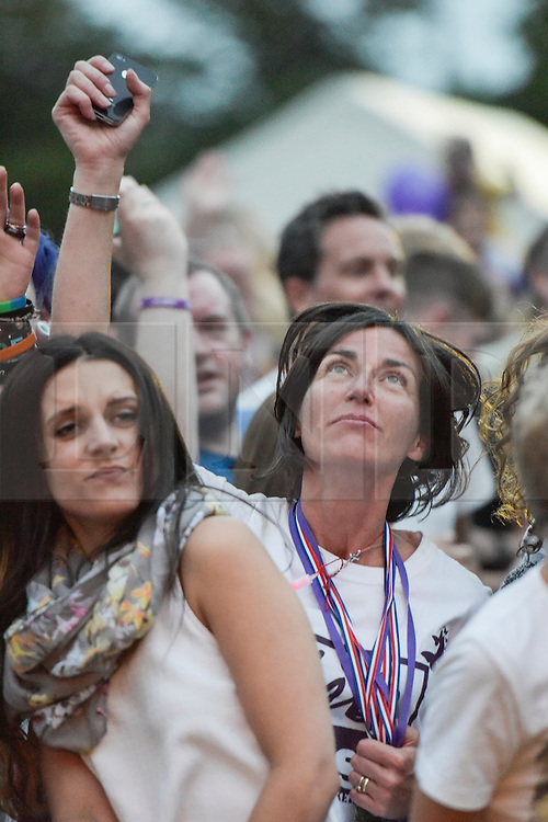 © Licensed to London News Pictures. 27/06/2015. Witney, Oxfordshire. MAUREEN BAKER (mum of Liberty Baker). 3000 attended the very first Lib Fest that took place in memory of Witney schoolgirl Liberty Baker who was killed on the way to school by 18 year old driver Robert Blackwell. PAUL BAKER, the father of Liberty was accused by Police of harassing the Blackwell family and was due in front of magistrates, but it was dropped at the last minute. Photo credit : MARK HEMSWORTH/LNP