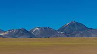 Andean landscape. Location: Between San Pedro de Atacama and El Tatio geysir field, Atacama, north Chile