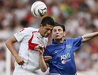 Fotball, 11. september 2004, Bundeliga,  VfB Stuttgart - Hamburger SV,  v.l. Kevin KURANYI, Bastian REINHARDT HSV