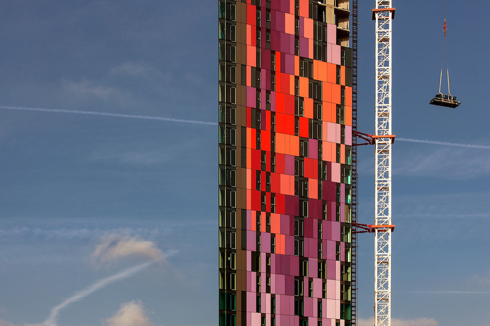 Residential Tower, Croydon, Outer London, England, UK