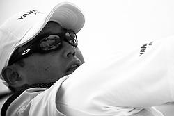 Yasuhiro Yaji, YANMAR Racing. Portimao Portugal Match Cup 2010. World Match Racing Tour. Portimao, Portugal. 25 June 2010. Photo: Gareth Cooke/Subzero Images