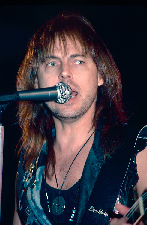 ALLENTOWN - DECEMBER 28: Don Dokken performs at Airport Music Hall on December 28, 1990, in Allentown, Pennsylvania. (Photo by Lisa Lake)