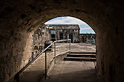 Inside of Fort Charlotte Nassau, Bahamas, Caribbean
