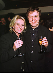 MR & MRS ADRIAN NOBLE he is artistic director of the Royal Shakespeare Company, at a party in London on 3rd November 1998.MLN 12