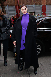 NEW YORK, NY - FEBRUARY 11: Alice + Olivia NYFW 2019 presentation on February 11, 2019 in New York City. CAP/MPI/DC ©DC/MPI/Capital Pictures. 11 Feb 2019 Pictured: Olivia Culpo. Photo credit: DC/MPI/Capital Pictures / MEGA TheMegaAgency.com +1 888 505 6342