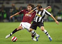 """Torino 29/9/2007 Stadio """"Olimpico""""<br /> Campionato Italiano Serie A<br /> Matchday 6 - Torino-Juventus (0-1)<br /> Paolo Zanetti (Torino) Cristiano Zanetti (Juventus)<br /> Photo Luca Pagliaricci INSIDE"""