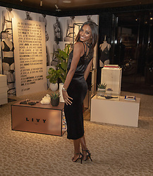 February 20, 2019 - London, United Kingdom - Angel Jasmine Tookes Celebrate French Lingerie Label LIVY At The Victoria's Secret New Bond Street Store in London. (Credit Image: © Gary Mitchell/SOPA Images via ZUMA Wire)