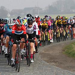 27-02-2021: Wielrennen: Omloop Het Nieuwsblad - Vrouwen: Gent: Christine Majerus