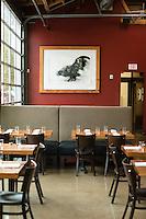 Lincoln, a fine dining establishment in Northeast Portland, Oregon, known for handmade pasta.