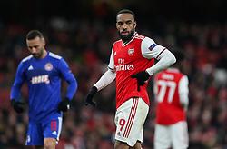 Alexandre Lacazette of Arsenal - Mandatory by-line: Arron Gent/JMP - 27/02/2020 - FOOTBALL - Emirates Stadium - London, England - Arsenal v Olympiacos - UEFA Europa League Round of 32 second leg