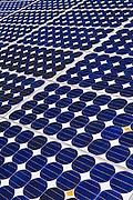 Solar panels, Death Valley National Park. California USA
