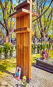 Grób Jerzego Nowosielskiego, malarza, rysownika, twórcy ikon