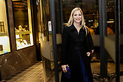Brussels , 01/02/2020 : Les Magritte du Cinema . The Academie Andre Delvaux and the RTBF, producer and TV channel , present the 10th Ceremony of the Magritte Awards at the Square in Brussels . Departure from The Hotel<br /> Pix : Natacha Regnier , dressed by Paule Ka<br /> Credit : Thierry Roge / Isopix