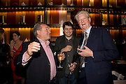 PETER MCKAY, SAM LEITH AND GILLON AITKEN, The launch of the new James Bond book Devil May Care, by Sebastian Faulks. 27 May at FIFTY, St James. London *** Local Caption *** -DO NOT ARCHIVE-© Copyright Photograph by Dafydd Jones. 248 Clapham Rd. London SW9 0PZ. Tel 0207 820 0771. www.dafjones.com.