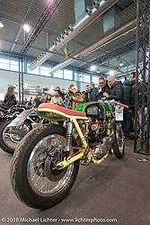 Custom Bike Show during Motor Bike Expo. Verona, Italy. January 23, 2016.  Photography ©2016 Michael Lichter.