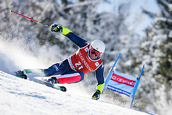 Massimiliano Blardone (ITA) competes in 1st Run during Men Giant Slalom race of FIS Alpine Ski World Cup 55th Vitranc Cup 2015, on March 4, 2016 in Kranjska Gora, Slovenia. Photo by Ziga Zupan / Sportida