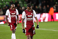 Deception Metz - Cheick DOUKOURE - 20.12.2014 - Metz / Monaco - 17eme journee de Ligue 1 -<br />