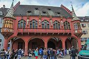 The Historical Merchants Hall at Freiburg im Breisgau, Baden-Wurttemberg, Germany