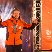 NLD/Amsterdam/20180226 - Thuiskomst TeamNL, Jan Blokhuizen