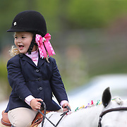 Young riders during presentations before the $100,000 Empire State Grand Prix presented by the Kincade Group during the Old Salem Farm Spring Horse Show, North Salem, New York,  USA. 17th May 2015. Photo Tim Clayton