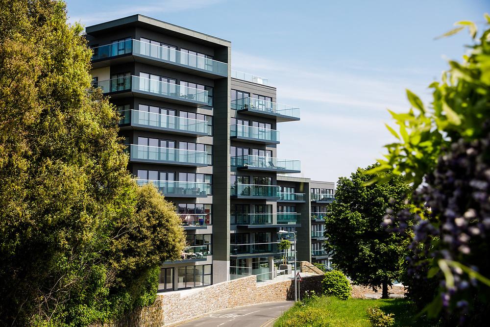 Residential properties built by Dandara at Westmount in St Helier, Jersey