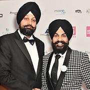 Tony Shergill & Baljinder Singh attend the BritAsiaTV Presents Kuflink Punjabi Film Awards 2019 at Grosvenor House, Park Lane, London,United Kingdom. 30 March 2019