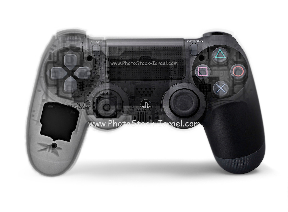 Play station (PS4) under x-ray