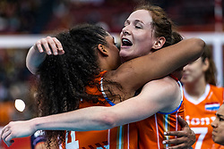 15-10-2018 JPN: World Championship Volleyball Women day 16, Nagoya<br /> Netherlands - USA 3-2 /