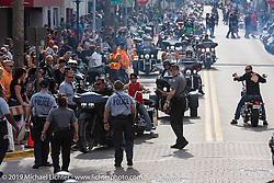 Main Street during Daytona Bike Week. Daytona Beach, FL. USA. Sunday March 11, 2018. Photography ©2018 Michael Lichter.