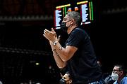Gianluca Pagliuca<br /> A|X Armani Exchange Olimpia Milano - Segafredo Virtus Bologna<br /> Discovery+ Supercoppa 2021 - Final Eight - Finale<br /> LBA Legabasket Serie A UnipolSAI 2021/2022<br /> Bologna, 21/09/2021<br /> Foto L.Canu / Ciamillo-Castoria