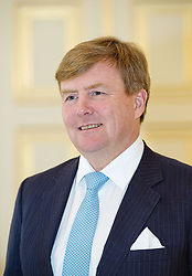 December 21, 2017 - The Hague, NETHERLANDS - 21-12-2017 The Hague King Willem-Alexander pose for the media at palace Noordeinde in The Hague...© PPE/pool.Credit: PPE/face to face.- No rights for the Netherlands  (Credit Image: © face to face via ZUMA Press)