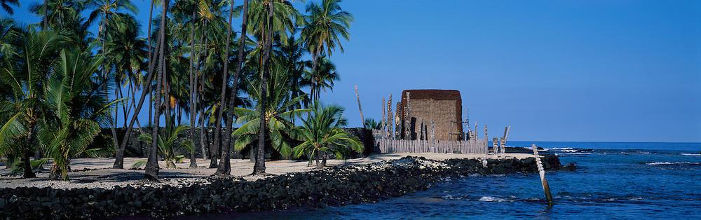 Puuhonua O Honaunau , City of refuge, Island of Hawaii<br />
