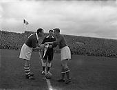 1955 - Soccer International: Ireland v Yugoslavia at Dalymount Park