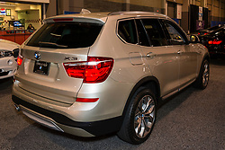 CHARLOTTE, NORTH CAROLINA - NOVEMBER 20, 2014: BMW X3 sports activity vehicle on display during the 2014 Charlotte International Auto Show at the Charlotte Convention Center.