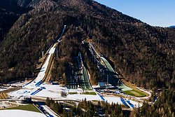 View of the jumping hills at preparation of Planica Hill 2 weeks before FIS Ski Flying World Championships 2020, on November 25, 2020 in Planica, Slovenia. Photo by Matic Klansek Velej / Sportida