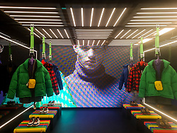 October 9, 2018 - Shanghai, Shanghai, China - Shanghai,CHINA-The first pop-up store of Zara opens in Shanghai, China, October 8th, 2018. (Credit Image: © SIPA Asia via ZUMA Wire)