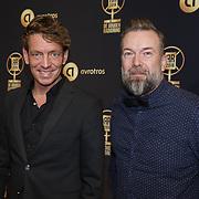 NLD/Hilversum/20190131 - Uitreiking Gouden RadioRing Gala 2019, Jan-Willem Roodbeen en Jeroen Kijk in de Vegte