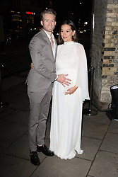 Andre Schurrle and Anna Sharypova arrive at the Late Fabulous Fund Fair at the Roundhouse in London during the Autumn/Winter 2019 London Fashion Week. PRESS ASSOCIATION. Picture date: Monday February 18, 2019. Photo credit should read: Isabel Infantes/PA Wire