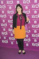 Arlene Phillips, Kooza, Cirque Du Soleil, VIP night, Royal Albert Hall, London, UK. January 08, 2013. (Photo by Richard Goldschmidt)